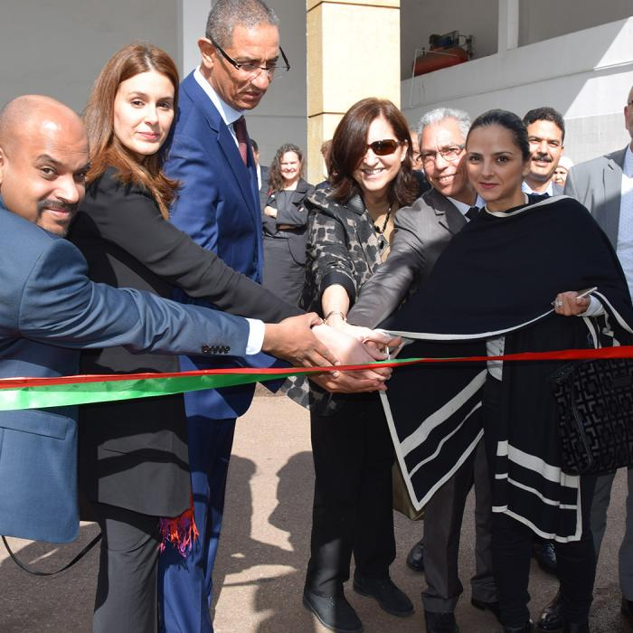 USAID Morocco, The Volvo Group, UNIDO and Government of Morocco for a vocational and technical education program