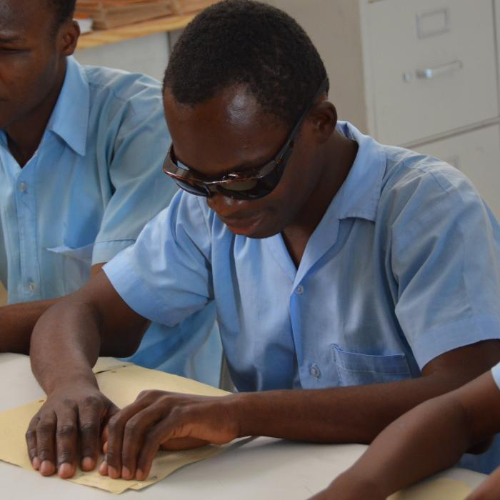 RAPID Blind Students Reading