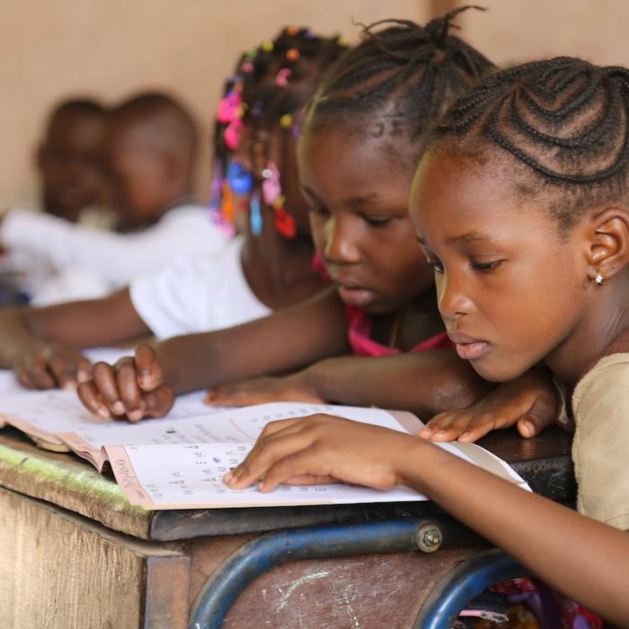 Integrated Reading Activity in Bamako, Mali.
