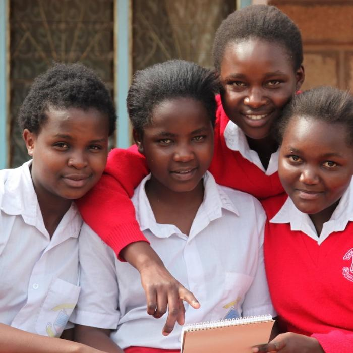 Wings to Fly scholarship recipients in Kenya