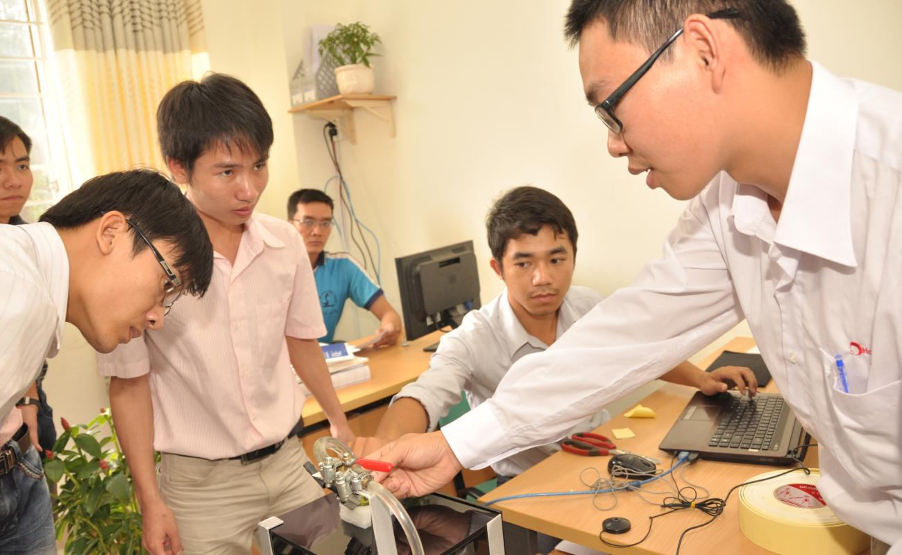 Faculty Member Nguyen Ba Hai at the Ho Chi Minh City University of Technical Education
