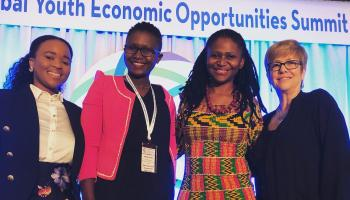 Recipients of the 2019 Young Women Transform Prize