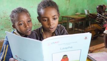 Photo: Students at Soyama Primary School in Sidama Zone